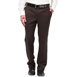 Brown Readymade Premium Formal Trousers By Gwalior