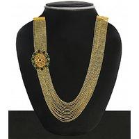 Zaveri Pearls Traditional Necklace-ZPFK4970