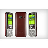 Samsung Metro DUOS C3322 (Wine Red) available at ShopClues for Rs.3699