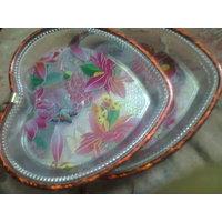 Heart Shape Set Of 2  Serving Plates - 2349704