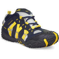Adybird Mens Black  Yellow Lace-Up Casual Shoes