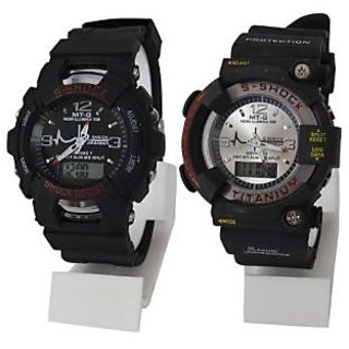 S-SHOCK Analog-Digital Sport Watch Men
