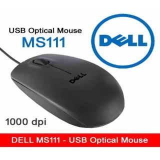 Dell Mouse MS111 USB 2.0 Optical Mouse