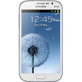 Samsung Galaxy Grand Duos I9082 (Elegant White, With 2 Flip Covers (Color: White