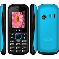 IKall K55 BLACK-BLUE (1.8 Inch,Dual Sim, BIS Certified, Made In India)
