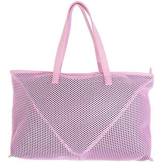 Tuelip Net-V-Tote Bag Pink