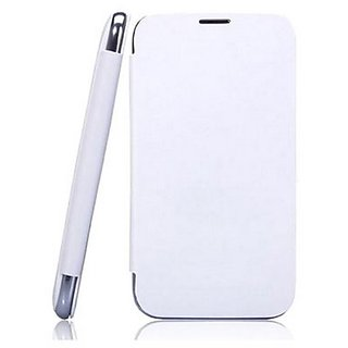 Aeroflots  Flip Cover for Karbonn Titanium S1  White  available at ShopClues for Rs.249