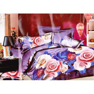3d Designer Bedsheet A10