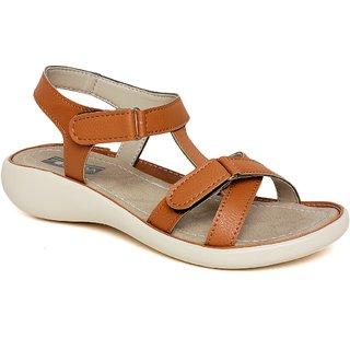 Vendoz Stylish Tan Sandals