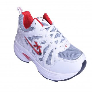 ATERNA COMFORTABLE RUNNING/ LIFESTYLE SPORTS SHOES FOR MEN AT 983 WHITE RED