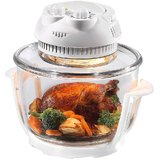 Frendz Air Fryer/ Multioven / Halogen Oven 800 Watt SF-610 Glass Body with timer