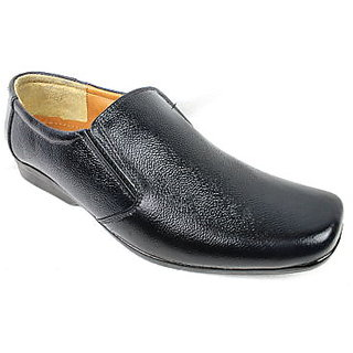 JerryMouse.in Mens Black Leather Formal Shoe - MFOR0028