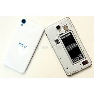 Fultushopping HTC Desire 820 Battery Back Door Panel- white