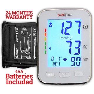Healthgenie BP Monitor digital Upper arm BPM 04 KBL Automatic