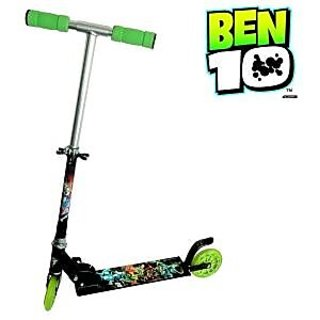BEN 10 Kids Foldable Scooter Ages 5+ Perfect  3 wheeler  available at ShopClues for Rs.888