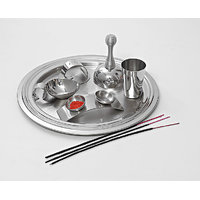 Magpie  Archna Pooja Thali Set Of 6 Pcs  Model No 58
