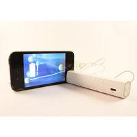Charzon Lipstick Portable Power Bank 2800 MAh White ( Samsung Battery Inside)