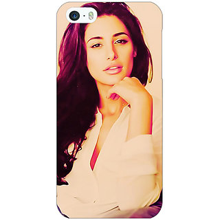 1 Crazy Designer Bollywood Superstar Nargis Fakhri Back Cover Case For Apple iPhone 5 C20976