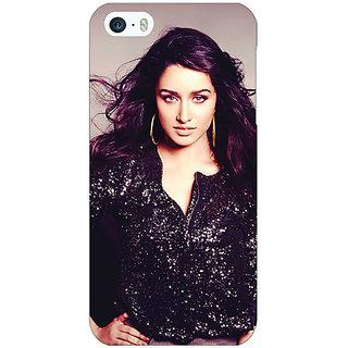 1 Crazy Designer Bollywood Superstar Shraddha Kapoor Back Cover Case For Apple iPhone 5 C20980
