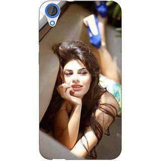 1 Crazy Designer Bollywood Superstar Jacqueline Fernandez Back Cover Case For HTC Desire 820Q C290996