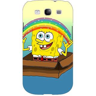 1 Crazy Designer Spongebob Back Cover Case For Samsung Galaxy Grand Duos I9082 C100469