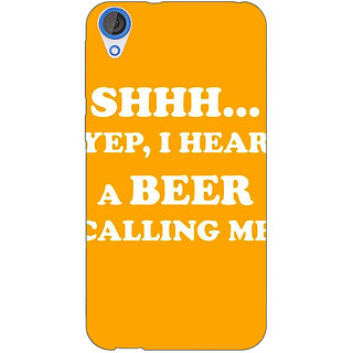 1 Crazy Designer Beer Quote Back Cover Case For HTC Desire 820Q C291263