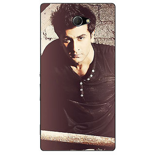 1 Crazy Designer Bollywood Superstar Ranbir Kapoor Back Cover Case For Sony Xperia M2 C310903
