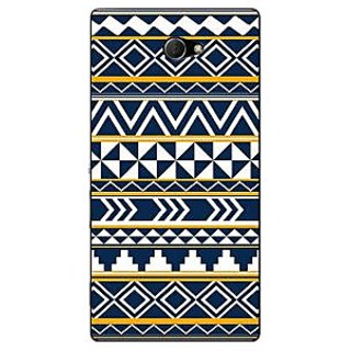 1 Crazy Designer Aztec Girly Tribal Back Cover Case For Sony Xperia M2 Dual C320060