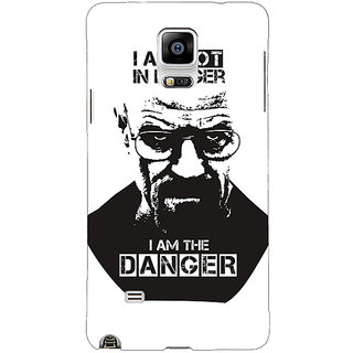 1 Crazy Designer Breaking Bad Heisenberg Back Cover Case For Samsung Galaxy Note 4 C210404