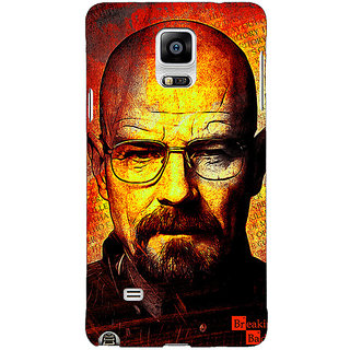 1 Crazy Designer Breaking Bad Heisenberg Back Cover Case For Samsung Galaxy Note 4 C210405