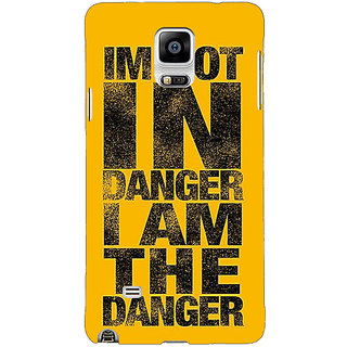 1 Crazy Designer Breaking Bad Heisenberg Back Cover Case For Samsung Galaxy Note 4 C210409