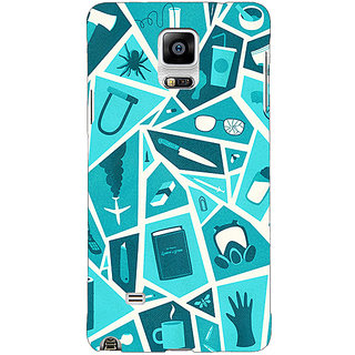 1 Crazy Designer Breaking Bad Back Cover Case For Samsung Galaxy Note 4 C210411