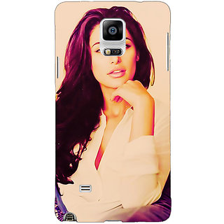 1 Crazy Designer Bollywood Superstar Nargis Fakhri Back Cover Case For Samsung Galaxy Note 4 C210976