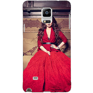 1 Crazy Designer Bollywood Superstar Kareena Kapoor Back Cover Case For Samsung Galaxy Note 4 C210982
