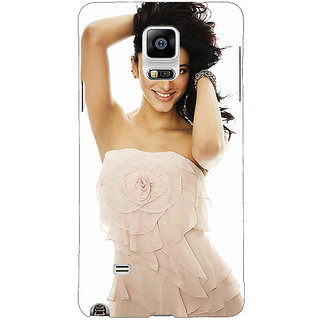 1 Crazy Designer Bollywood Superstar Shruti Hassan Back Cover Case For Samsung Galaxy Note 4 C210985
