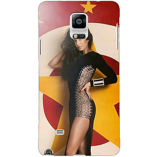 1 Crazy Designer Bollywood Superstar Katrina Kaif Back Cover Case For Samsung Galaxy Note 4 C210986