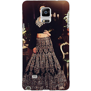 1 Crazy Designer Bollywood Superstar Deepika Padukone Back Cover Case For Samsung Galaxy Note 4 C210991