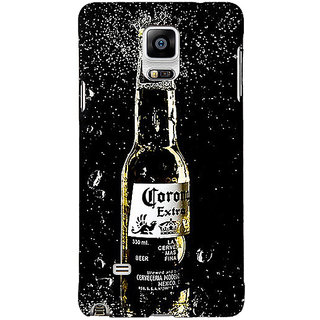 1 Crazy Designer Corona Beer Back Cover Case For Samsung Galaxy Note 4 C211232