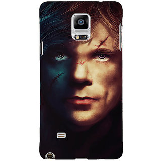 1 Crazy Designer Game Of Thrones GOT House Lannister Tyrion Back Cover Case For Samsung Galaxy Note 4 C211559