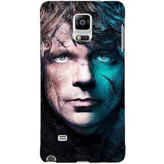 1 Crazy Designer Game Of Thrones GOT House Lannister Tyrion Back Cover Case For Samsung Galaxy Note 4 C211560
