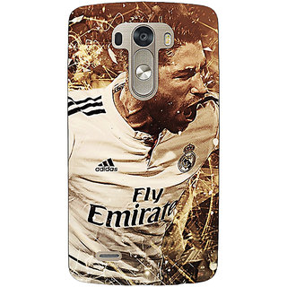 1 Crazy Designer Real Madrid Sergio Ramos Back Cover Case For Lg G3 D855 C220588