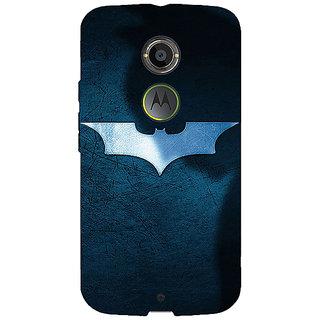 1 Crazy Designer Superheroes Batman Dark knight Back Cover Case For Moto X (2nd Gen) C230003
