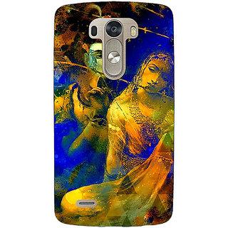 1 Crazy Designer Mahadev Shiv Shankar Bholenath Parvati Back Cover Case For Lg G3 D855 C221278
