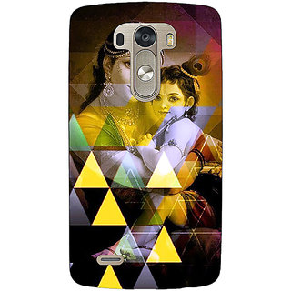 1 Crazy Designer Lord Krishna Back Cover Case For Lg G3 D855 C221281