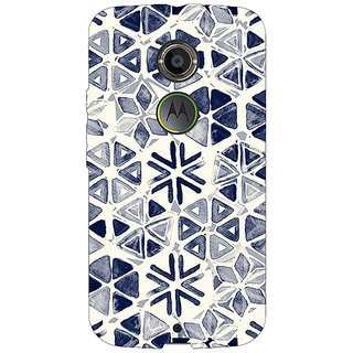 1 Crazy Designer Snow winter Pattern Back Cover Case For Moto X (2nd Gen) C230278