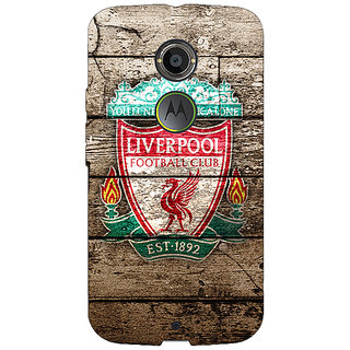 1 Crazy Designer Liverpool Back Cover Case For Moto X (2nd Gen) C230548