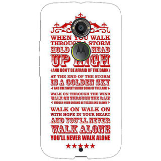 1 Crazy Designer Liverpool Back Cover Case For Moto X (2nd Gen) C230551