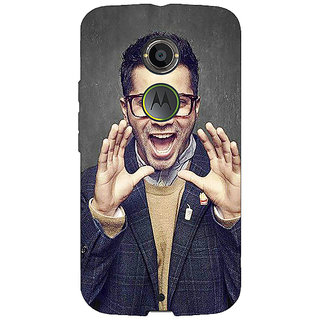 1 Crazy Designer Bollywood Superstar Varun Dhawan Back Cover Case For Moto X (2nd Gen) C230946