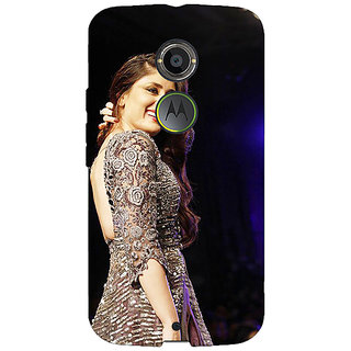 1 Crazy Designer Bollywood Superstar Kareena Kapoor Back Cover Case For Moto X (2nd Gen) C231004