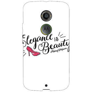 1 Crazy Designer Quotes Beautiful Back Cover Case For Moto X (2nd Gen) C231188
